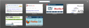 Anteprima dei tab aperti in Firefox 3.5