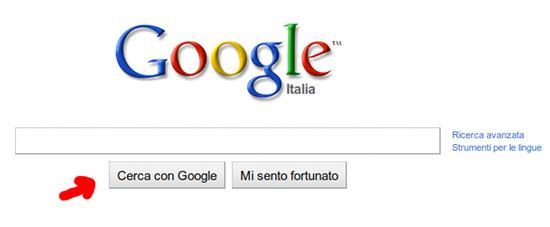 La nuova interfaccia di Google