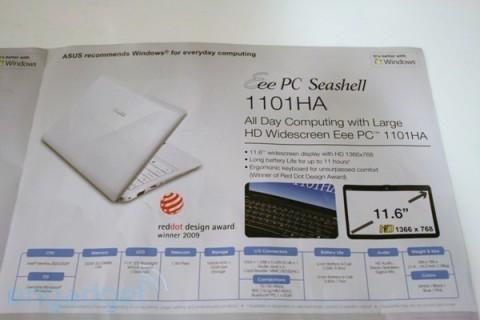 Confezione Asus Eee PC 1101HA