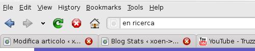Tradurre dalla barra di ricerca
